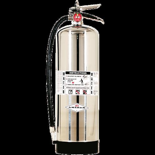2.5 gal Pressure Water Amerex Fire Extinguisher w/ wall hanger