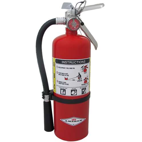 5lb Amerex ABC Extinguisher 3A:10BC