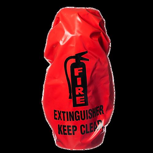 Elastic Back Extinguisher Cover, English, No Window