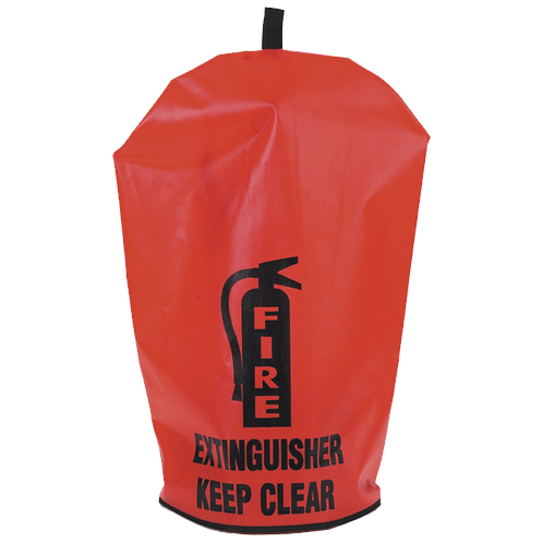 Vinyl Extinguisher Cover, English, No Window