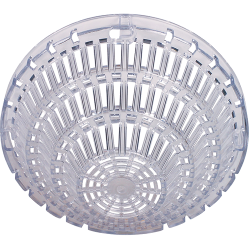 Smoke Detector Damage Stopper, Flush Mount - Clear