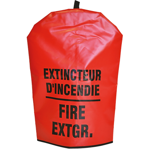 Vinyl Extinguisher Cover, Bilingual, No Window