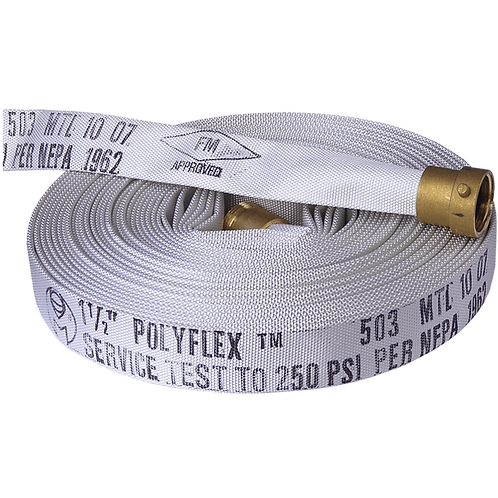 "100 ft x 1-1/2"" Rack Hose"
