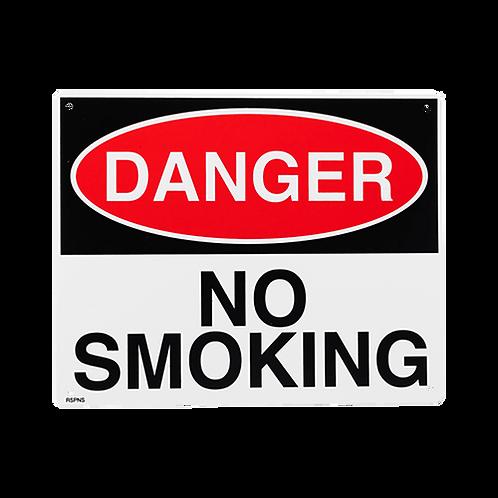 No Smoking Sign 10 X 8