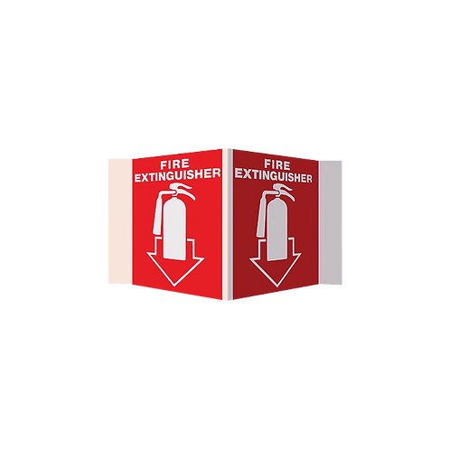Fire Extinguisher 3D Stand-Out