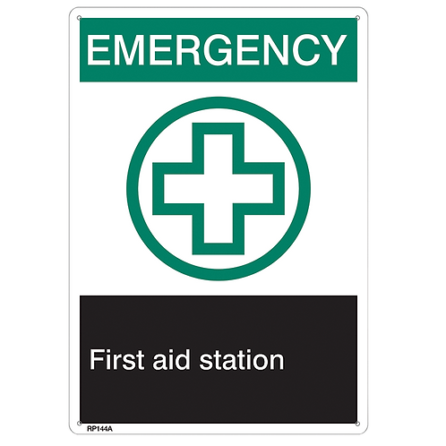 """Emergency…First Aid Station"""