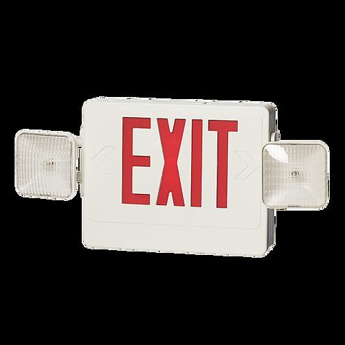 Plastic EXIT Combo Emergency Lighting