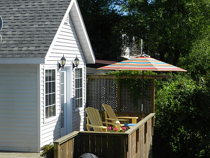 The Nest with private deck.