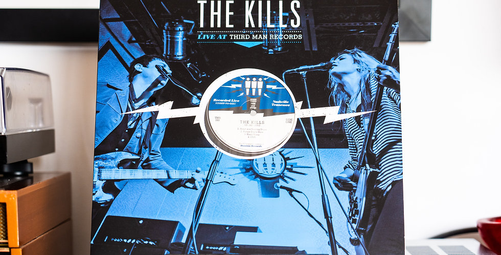 The Kills ‎– Live At Third Man Records (LP)