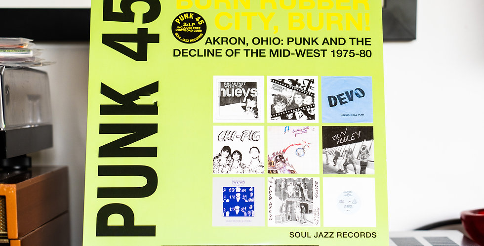 Various – Punk 45: Burn Rubber City Burn! (2LP)