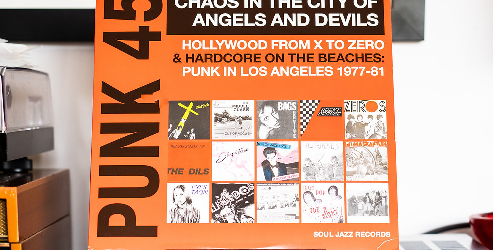 Various ‎– Punk 45 Chaos In The City Of Angels And Devils (2LP)