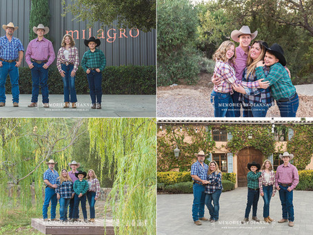 A Little Bit Country (Milagro Family Portraits)