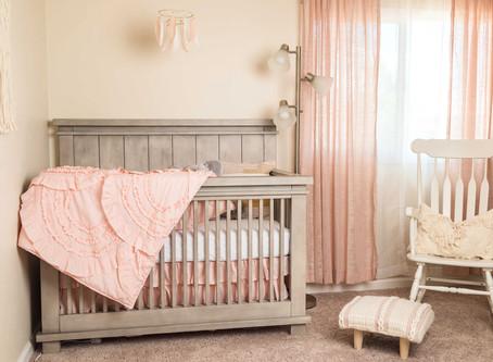 In Home Newborn Session (Macrame decor)