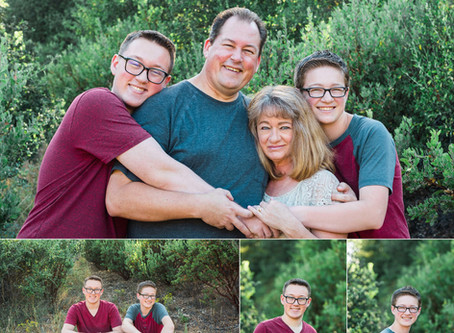 William Heise Park Family Portraits {Julian, CA}