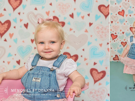 Love is in the Air!  {Kids Valentine's Sessions}