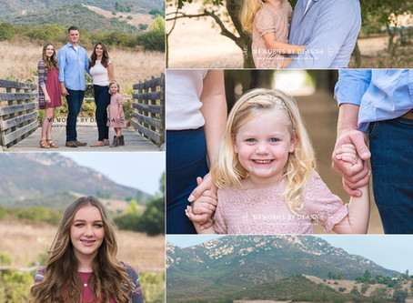 Iron Mountain Trailhead Family Portraits