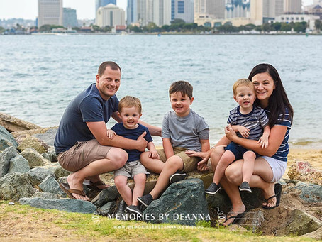 Beach Fun (Coronado Family Portraits)