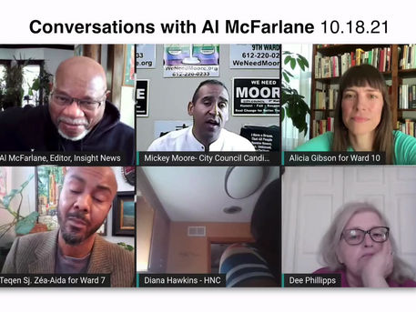 Mickey Addresses Residency Concerns on Conversations with Al McFarlane