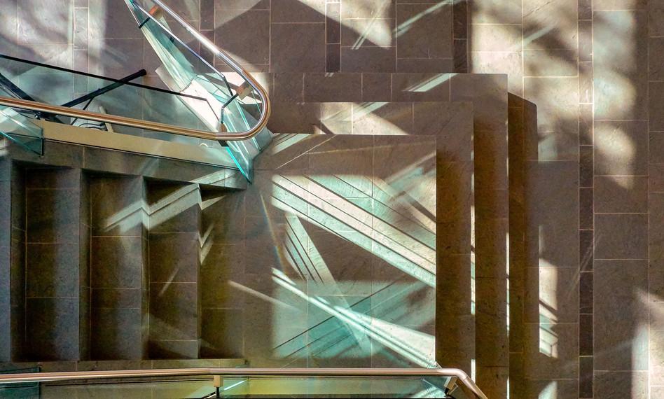 NWT Legislative Assembly stair detail