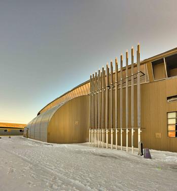 Kiilinik High School exterior