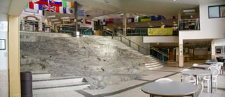 Bedrock in Ecole St Patrick High School, Yellowknife NWT