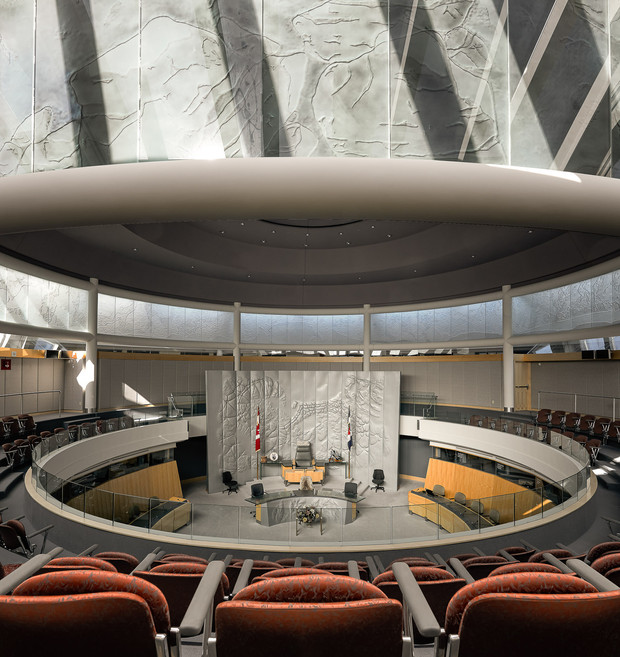 NWT Legislative Assembly Chamber