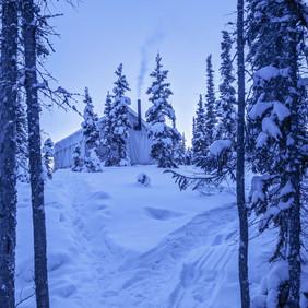 Banting Lake Tent Yellowknife