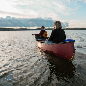 TAG Canoeing Yellowknife