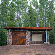 Liard Highway Welcome Pavilion