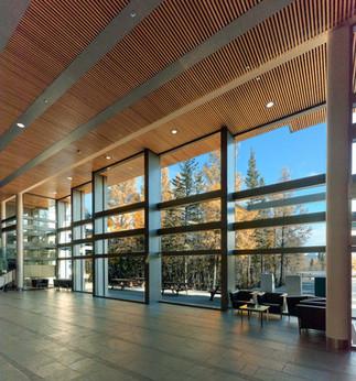 NWT Legislative Assembly Building lobby
