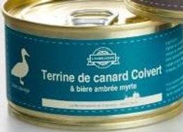 Terrine de canard Colvert à la bière L'Eurélienne Ambrée Myrte