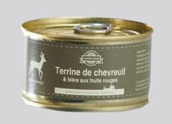 Terrine de chevreuil à la bière L'Eurélienne aux fruits rouges