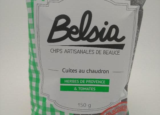 Chips Belsia aux Herbes de Provence & Tomates