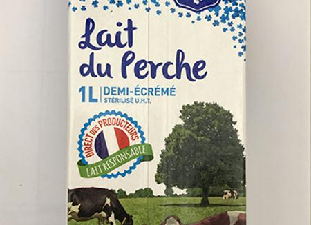 Lait du Perche UHT demi-écrémé (1L)
