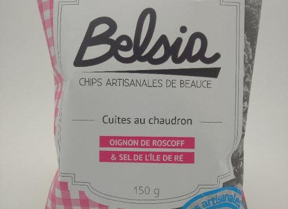 Chips Belsia à l'Oignon Rose AOP de Roscoff