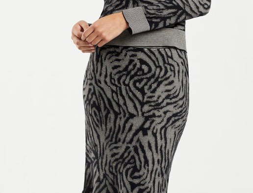 Marie Oliver Jude Jacquard Skirt