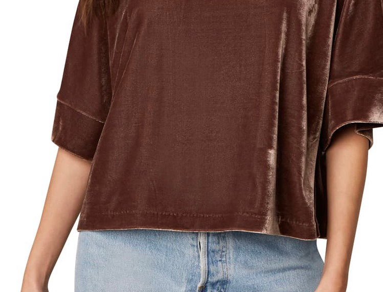 Cupcakes and Cashmere Velvet Top