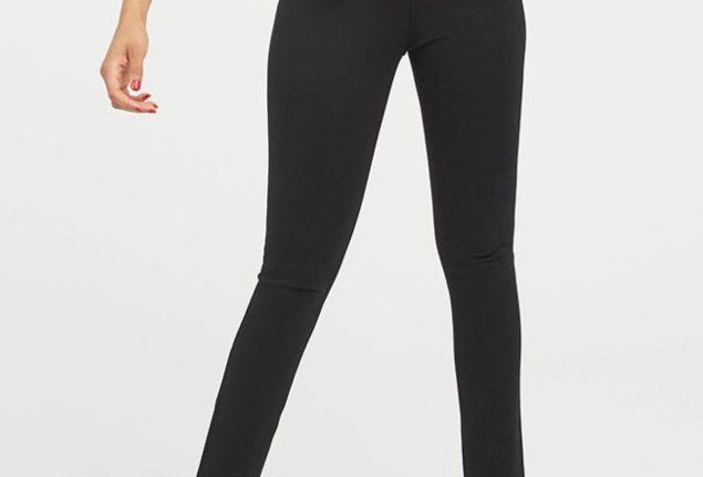 SPANK 4-Pocket Ankle Pant in Black
