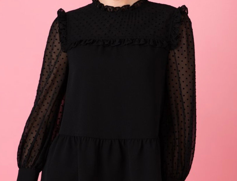 Crosby by Mollie Burch Wilkins Blouse in Black