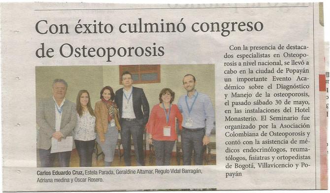 CURSO DE OSTEOPOROSIS AL DÍA