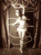Hula Hoop Lanigan dying swan comedy circus