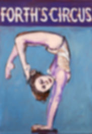 handstand, Judith Lanigan, Forths Circus