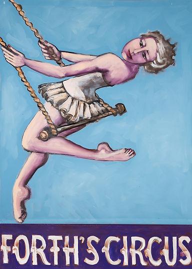 Judith Lanigan Forth's Circus reproduction print of original painting by Judith Lanigan