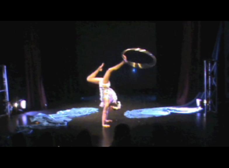 Swan Handstand