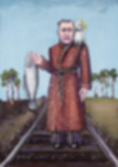 painting Judith Lanigan