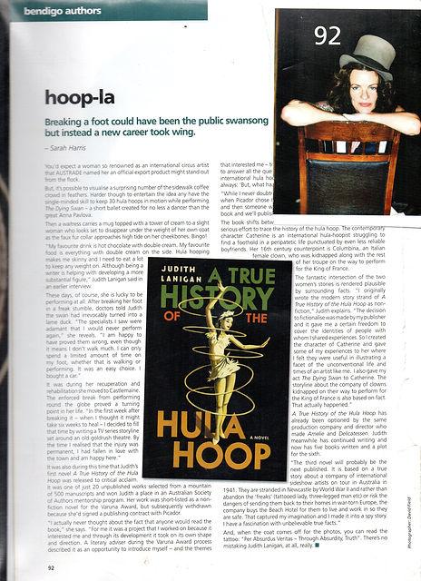 hula hoop, hula-hoop, Judith Lanigan