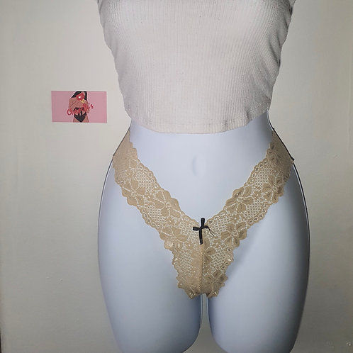 Honey Lace Thong