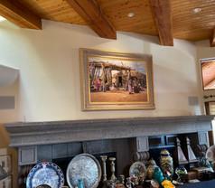 "Rare Original Art Ray Swanson ""Navajo Summer"""