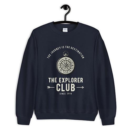 "Sweatshirt ""The Explorer Club"""
