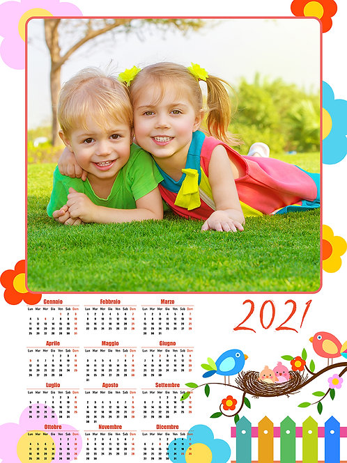 Calendario 12 mesi